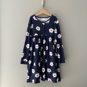 Hanna Andersson Floral Day Dress/Play Dress 10
